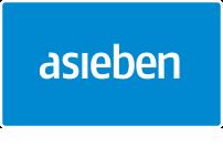 asieben GmbH – Werbung + Digitale Medien Logo