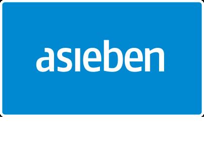 asieben GmbH – Werbung + Digitale Medien Retina Logo